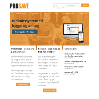 A complete backup of prosave.dk
