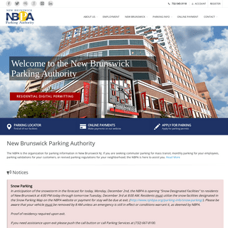 New Brunswick Parking Authority - New Brunswick, NJ