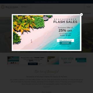 Home - Beachcomber Resorts & Hotels in Mauritius