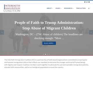 Home - Interfaith Immigration Coalition