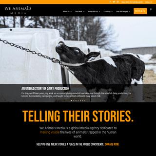 Main - We Animals Media