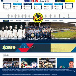 Club América - Sitio Oficial