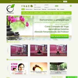 Clases de Yoga por Internet en Español - Un Respiro