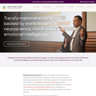 SIYLI - Mindfulness and Emotional Intelligence Leadership Training