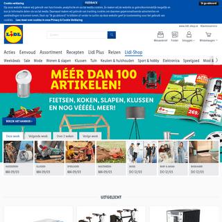 Lidl Webshop - Jouw online winkel met 30.000 producten!
