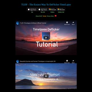 TLDF (TimeLapse DeFlicker)