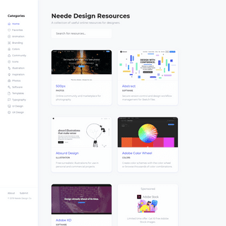 Neede Design Resources