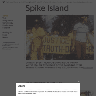 Spike Island - International centre for the development of contemporary art & design