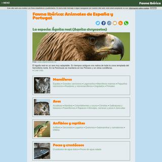 Fauna Ibérica- Animales de España y Portugal - Fauna Ibérica