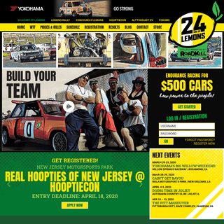 ArchiveBay.com - 24hoursoflemons.com - Homepage - 24 Hours of LEMONS