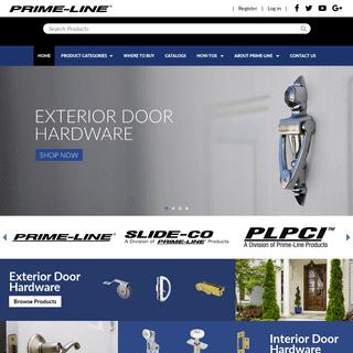Hardware Supplier - Window and Door Replacement Parts - Prime-Line