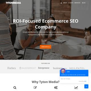 Ecommerce SEO Experts · Tyton Media™