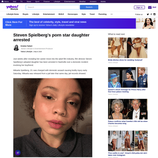ArchiveBay.com - au.lifestyle.yahoo.com/steven-spielberg-daughter-mikaela-arrested-domestic-violence-nashville-225255917.html - Mikaela Spielberg arrested on domestic violence charges