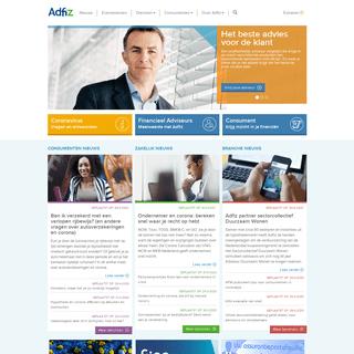 Adfiz- branchevereniging van onafhankelijk financieel adviseurs