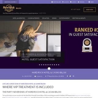 Hard Rock Hotel and Casino Biloxi - Resort Casinos in Biloxi, MS