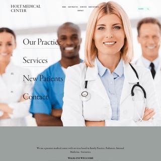 HOLT MEDICAL CENTER