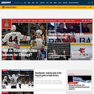 Blackhawk Up - A Chicago Blackhawks Fan Site - News, Blogs, Opinion and More