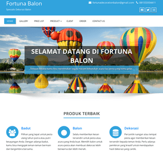 Home - Fortuna Balon
