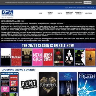 Dallas Summer Musicals Best of Broadway