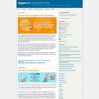The Official Amazon Associates Blog