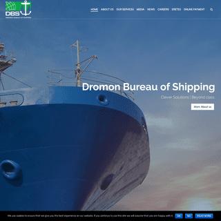 Dromon Bureau of Shipping (DBS) - Home