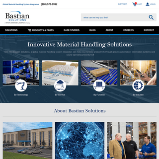 Material Handling Systems, Equipment, & Consulting - Bastian Solutions
