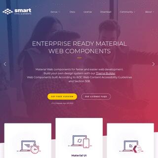 Web Components for Enterprise Apps. Modern, feature-rich UI for Web.