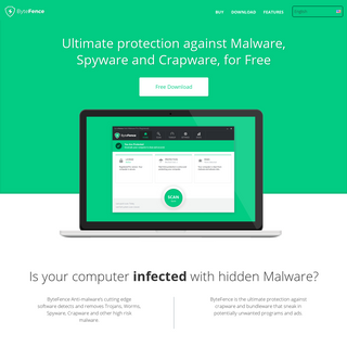 ArchiveBay.com - bytefence.com - ByteFence - Download Free Antivirus for PC