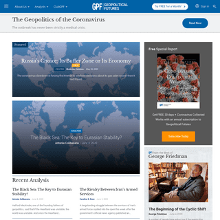 Homepage - Geopolitical Futures