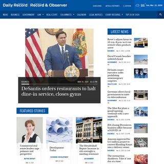 Jacksonville Daily Record - Jacksonville, Florida