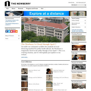The Newberry - Chicago's Independent Research Library Since 1887
