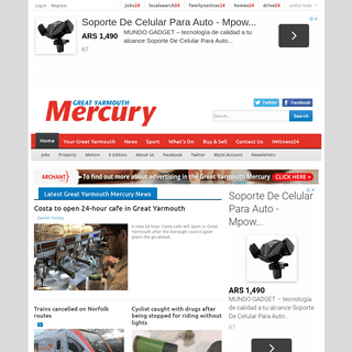 Great Yarmouth News and Sport - Great Yarmouth Mercury