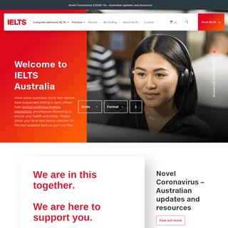 IELTS Australia- Computer-Based English Language Test