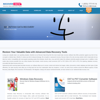 Recover Data Using Advanced Data Recovery Software Tools, Email Converter Tools