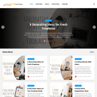 The Front Page of the Home Decoration Ideas - Kunuzmetals.com