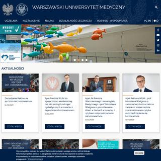 - Warszawski Uniwersytet Medyczny