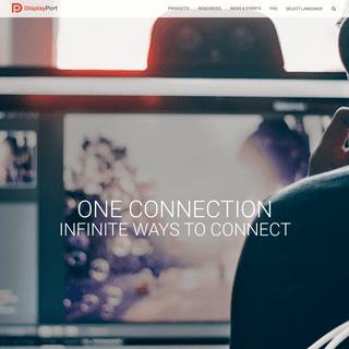 DisplayPort - High Performance Digital Technology