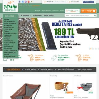 ArchiveBay.com - temin.com.tr - Temin Doğa Sporları .--. Outdoor Hobi Av Kamp Balık Malzemeleri .--. Online Satış Mağazası - Bursa