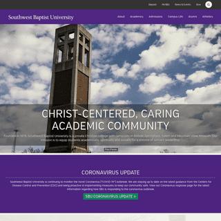 ArchiveBay.com - sbuniv.edu - Christian College in Missouri - Southwest Baptist University