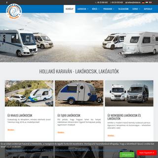 Hollakó Karaván - Lakókocsi, Lakóautó, T@B eladás, bérlés