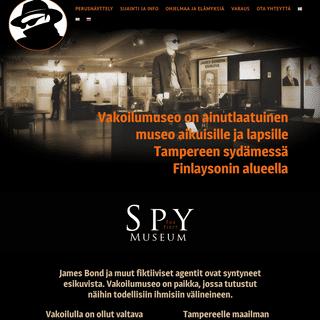 Vakoilumuseo Tampereen keskustassa Finlaysonilla