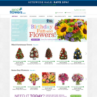 Send Flowers - A Cheap Way to Send Flowers - SendFlowers.com