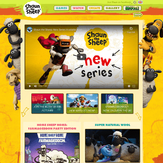 Welcome to the Shaun the Sheep Website! - Shaun the Sheep