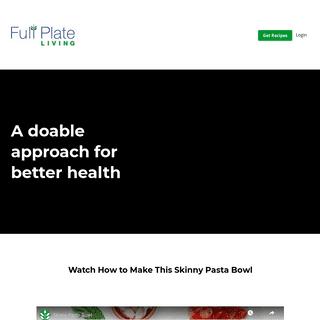 Full Plate Living - Learn how to eat enough fiber