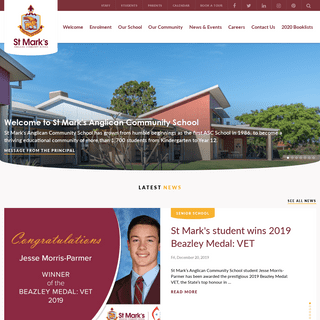 Homepage - St Mark's Anglican Community School