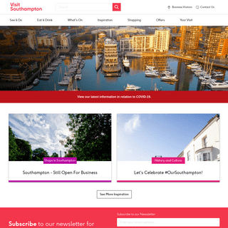 Visit Southampton - Southampton Tourist Information Guide