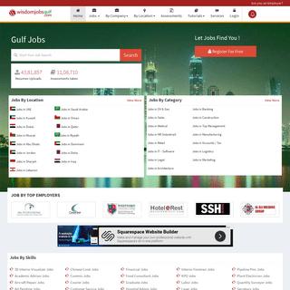 Gulf Jobs - Top Job Portal in Gulf - Wisdom Jobs UAE