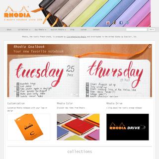 Rhodia Notebooks & Writing Pads - Official U.S. Distributor