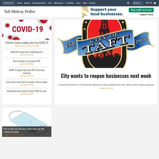Taft Midway Driller - Taft, CA- Local News, Politics, Entertainment & Sports in Taft, CA
