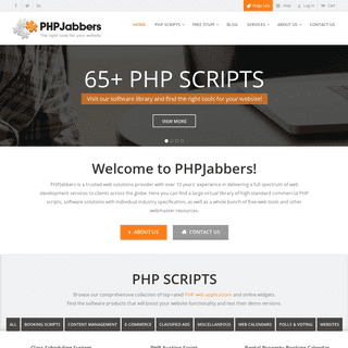 PHPJabbers - The Right Tools for Your Website
